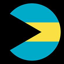 Odznaky/Brošne - Bahamy vlajka - 11237468_