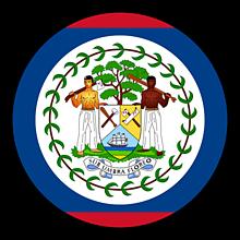 Odznaky/Brošne - Belize vlajka - 11237473_
