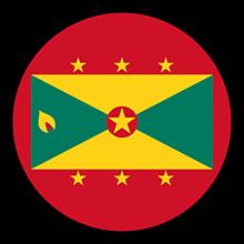 Odznaky/Brošne - Grenada vlajka - 11237481_