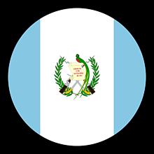Odznaky/Brošne - Guatemala vlajka - 11237482_
