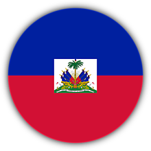 Odznaky/Brošne - Haiti vlajka - 11237483_