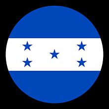 Odznaky/Brošne - Honduras vlajka - 11237484_