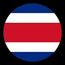 Odznaky/Brošne - Kostarika vlajka - 11237486_