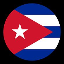 Odznaky/Brošne - Kuba vlajka - 11237487_