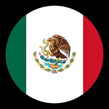 Odznaky/Brošne - Mexiko vlajka - 11237488_