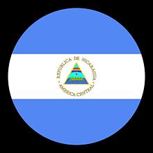 Odznaky/Brošne - Nikaragua vlajka - 11237490_