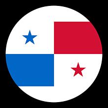 Odznaky/Brošne - Panama vlajka - 11237492_