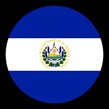 Odznaky/Brošne - Salvádor vlajka - 11237496_