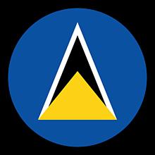 Odznaky/Brošne - Svätá Lucia vlajka - 11237503_