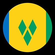 Odznaky/Brošne - Svätý Vincent vlajka - 11237509_