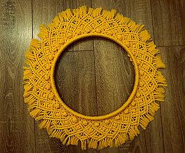 Dekorácie - veniec žltý - 11238489_