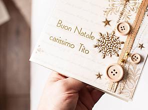 """Papiernictvo - Vianočná pohľadnica """"Tito"""" - 11236424_"""