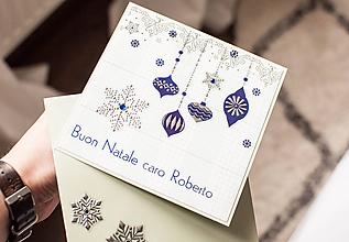 """Papiernictvo - Vianočná pohľadnica """"Roberto"""" - 11238804_"""