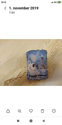 Magnetky - vianočné želanie - 11239459_
