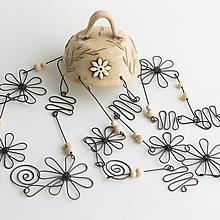 Dekorácie - zvonkohra s keramikou - 11241962_