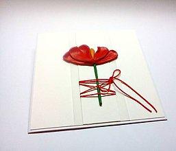 Papiernictvo - Pohľadnica ... kvetinová - 11242116_