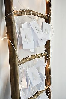 Dekorácie - Adventný kalendár - stromčeky - 11241317_