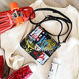 Kabelky - Eva Urban (kožená kabelka - ručne maľovaná) - 11242205_