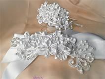 Opasky - Svadobný opasok - 11242002_