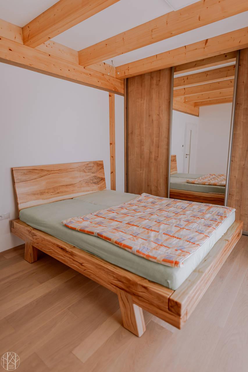 Nábytok - Masívna posteľ  - 11242160_
