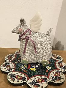 Dekorácie - Tilda vianočná kozička - 11241490_