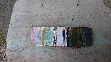 Iné šperky - Jemná zelenomodrá - 11240976_
