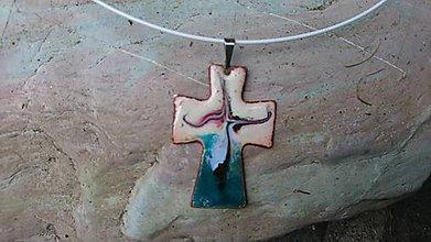 Náhrdelníky - Krížik - 11241070_