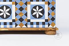 Nábytok - Maľovaná truhlica Johannes Spitler (rôzne veľkosti) - 11241190_