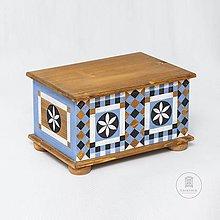 Nábytok - Maľovaná truhlica Johannes Spitler (rôzne veľkosti) - 11241183_