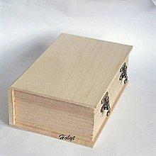 Polotovary - Drevená kniha č.3 - 11242540_