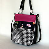 Veľké tašky - Taste it! - Zipp - S bodkami a s kvetom - 11240513_
