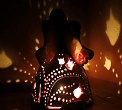 "Svietidlá a sviečky - ""Tulipánka"" - anjelska aromalampa - 11239336_"