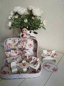Hračky - Kvetinový ňu-ňu kufríček - 11240524_