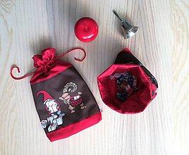 Iné tašky - Darčekové vrecúško - vianočné lux - 11240171_