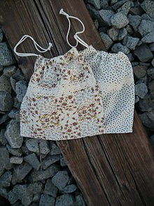 Taštičky - Látkové vrecko (ježko) - 11240125_