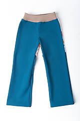 Detské oblečenie - Softshellové nohavice Zvieratká - 11242278_