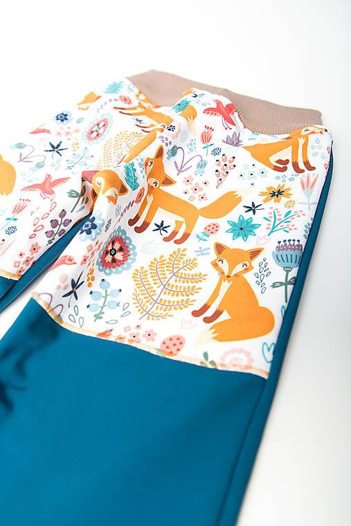 Softshellové nohavice Zvieratká