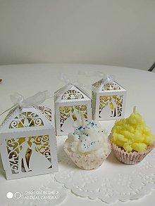 Darčeky pre svadobčanov - Sviečka pre svadobčanov - 11238880_