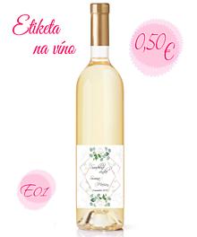 Papiernictvo - Etiketa na víno - 11240936_