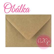 Papiernictvo - Obálka hnedá - 11241327_