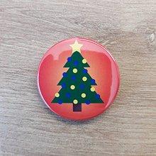 Magnetky - Vianočný stromček - 11240778_