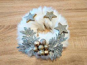Drobnosti - Vianočný veniec - 11241622_