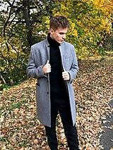 Oblečenie - pánsky kabát ADAM - 11242033_