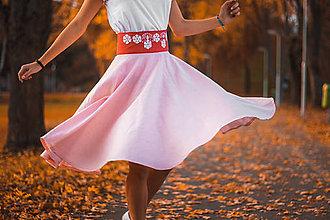 Sukne - Vyšívaná sukňa - 11242571_