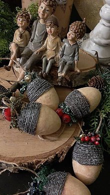 Dekorácie - ❤ zamatové Vianoce ❤ - 11241111_