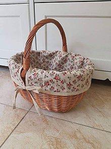 Úžitkový textil - Košík - vnútorný obal - 11239173_