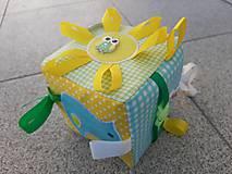 Hračky - Susugo Montessori kocka. - 11242597_