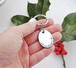 Kľúčenky - Mami, ľúbime ťa - kľúčenka zľava 4€ - 11240473_