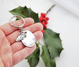 Doplnky - Kľúčenka oci, ľúbime ťa zľava 3€ - 11240489_