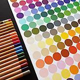 Hračky - NÁLEPKY . barevné puntíky . - 11239624_